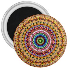 Peaceful Mandala 3  Magnets