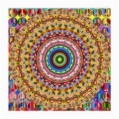 Peaceful Mandala Medium Glasses Cloth (2 Side) by designworld65