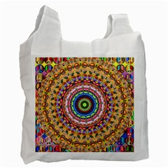 Peaceful Mandala Recycle Bag (one Side) by designworld65