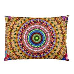 Peaceful Mandala Pillow Case (two Sides) by designworld65