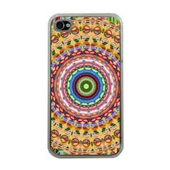 Peaceful Mandala Apple Iphone 4 Case (clear) by designworld65