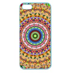 Peaceful Mandala Apple Seamless Iphone 5 Case (color) by designworld65