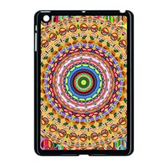 Peaceful Mandala Apple Ipad Mini Case (black) by designworld65