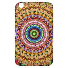 Peaceful Mandala Samsung Galaxy Tab 3 (8 ) T3100 Hardshell Case  by designworld65