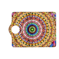Peaceful Mandala Kindle Fire Hd (2013) Flip 360 Case by designworld65