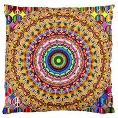 Peaceful Mandala Standard Flano Cushion Case (two Sides) by designworld65