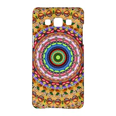 Peaceful Mandala Samsung Galaxy A5 Hardshell Case  by designworld65