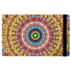 Peaceful Mandala Apple Ipad Pro 9 7   Flip Case by designworld65