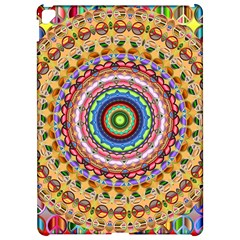 Peaceful Mandala Apple Ipad Pro 12 9   Hardshell Case by designworld65