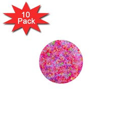 The Big Pink Party 1  Mini Magnet (10 Pack)  by designworld65