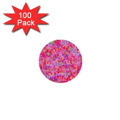 The Big Pink Party 1  Mini Buttons (100 Pack)  by designworld65
