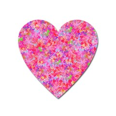 The Big Pink Party Heart Magnet by designworld65