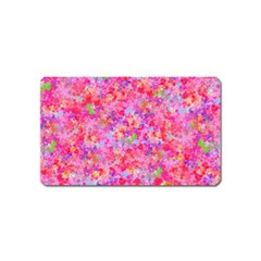The Big Pink Party Magnet (name Card) by designworld65