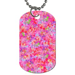 The Big Pink Party Dog Tag (one Side) by designworld65