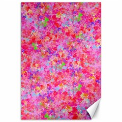 The Big Pink Party Canvas 12  X 18   by designworld65
