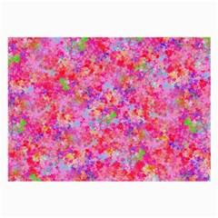 The Big Pink Party Large Glasses Cloth (2 Side) by designworld65