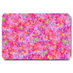 The Big Pink Party Large Doormat  by designworld65