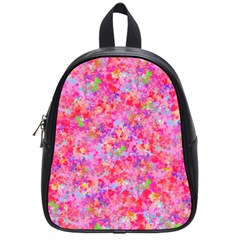 The Big Pink Party School Bag (small) by designworld65