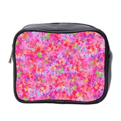 The Big Pink Party Mini Toiletries Bag 2 Side by designworld65
