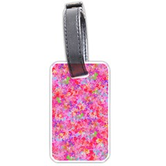 The Big Pink Party Luggage Tags (one Side)  by designworld65