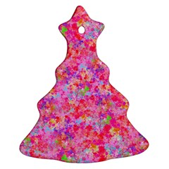 The Big Pink Party Christmas Tree Ornament (two Sides) by designworld65