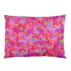The Big Pink Party Pillow Case (two Sides)