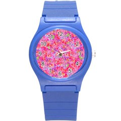 The Big Pink Party Round Plastic Sport Watch (s) by designworld65