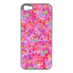 The Big Pink Party Apple Iphone 5 Case (silver) by designworld65