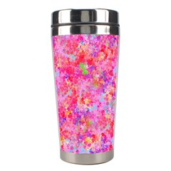 The Big Pink Party Stainless Steel Travel Tumblers by designworld65