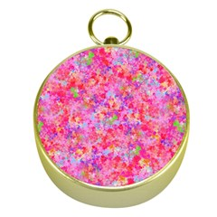 The Big Pink Party Gold Compasses by designworld65