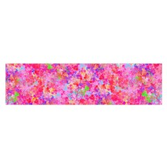 The Big Pink Party Satin Scarf (oblong) by designworld65
