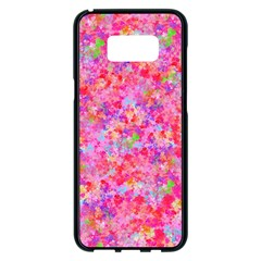 The Big Pink Party Samsung Galaxy S8 Plus Black Seamless Case by designworld65