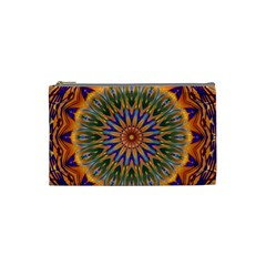 Powerful Mandala Cosmetic Bag (small)  by designworld65