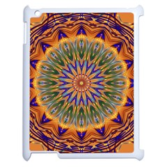 Powerful Mandala Apple Ipad 2 Case (white) by designworld65