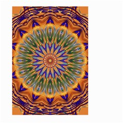 Powerful Mandala Large Garden Flag (two Sides) by designworld65