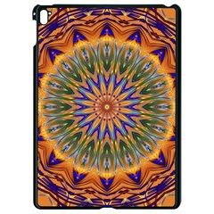 Powerful Mandala Apple Ipad Pro 9 7   Black Seamless Case by designworld65