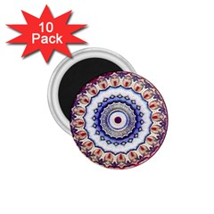 Romantic Dreams Mandala 1 75  Magnets (10 Pack)  by designworld65