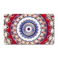Romantic Dreams Mandala Magnet (rectangular) by designworld65