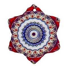 Romantic Dreams Mandala Ornament (snowflake) by designworld65