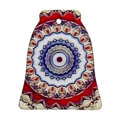 Romantic Dreams Mandala Ornament (bell) by designworld65