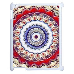 Romantic Dreams Mandala Apple Ipad 2 Case (white) by designworld65