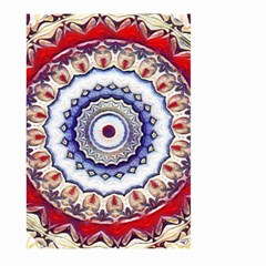 Romantic Dreams Mandala Large Garden Flag (two Sides) by designworld65