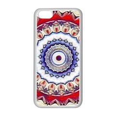 Romantic Dreams Mandala Apple Iphone 5c Seamless Case (white) by designworld65