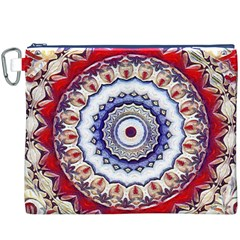 Romantic Dreams Mandala Canvas Cosmetic Bag (xxxl) by designworld65