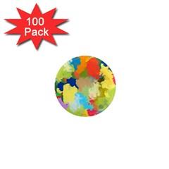 Summer Feeling Splash 1  Mini Magnets (100 Pack)  by designworld65