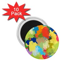 Summer Feeling Splash 1 75  Magnets (10 Pack)  by designworld65