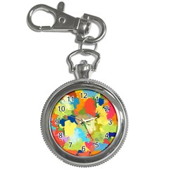 Summer Feeling Splash Key Chain Watches by designworld65