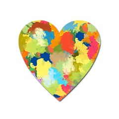 Summer Feeling Splash Heart Magnet by designworld65