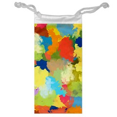 Summer Feeling Splash Jewelry Bag by designworld65
