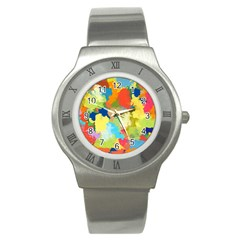 Summer Feeling Splash Stainless Steel Watch by designworld65